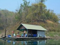 Fishing in Thailand - Khao Laem Carp Raft