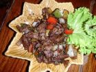 Beef Fried with Black Pepper