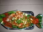 Steamed Tilapia with Lime & Chillis