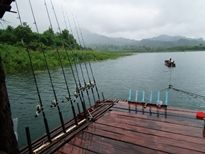 Fishing Khao Laem Dam